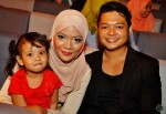 Erma Maulood, Idi Hakim and their daughter Ellis Aisha...