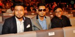 Ryan Sufiyan (left), Yazri Malik (centre) and his assistant director Dhino Hussain