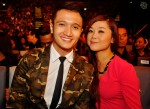 Fauzie Laily and his lovely wife Nurul Huda...