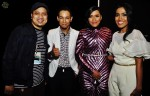 Post-show: Sufie Rashid posed with DJ KC, Fiza O and Nity Baizura...