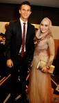 SG's celebrity couple: Actress Norfasarie and hubby Baihakki Khaizan...