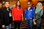 Mr. Hassan Salleh and Ms. Zakiah Halim with Joe WINGS and Awie...
