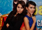 Always game for a goofy photo: Nurfarhana M. Noor and Izyan Mellyna...