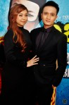 Fauzie Laily looking so sharp in his suit together with his wife, Nurul Huda...