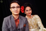 Hosts Fauzie Laily and Fiza O...