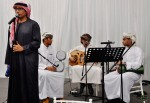 Samra Alwehdah serenaded the guests with a series of Arabian hits...