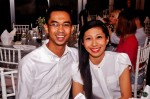 Shahril Wahid and wife Suherdlya Sabar...