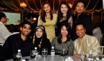 Clockwise from top: Mediacorp Suria's Yusnita Yaacob, Hazlina Halim, Riz Sunawan, Wan Haiz Salleh, Diana Halil, Farlina and hubby