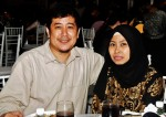 Mr. Hassan Salleh and wife Madam Kamsiah Rahman...