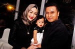 Rozzalina Ramli, hubby Jai Wahab and daughter Hannah Adyna...