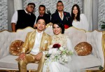 The newlyweds with Trisno Trio and Ms. Renee Quek from Grey by Ortenhill...