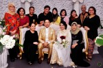 The newlyweds and the ever creative Mediacorp Eaglevision team...