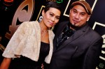 Celebrity make-up artist, Madam Norehan Fong-Harun and Najib Soiman...