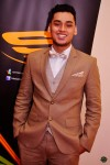 Asraf Amin looking spiffy in his suit...