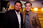 Sofyan Daud, nominee for Best Videography, with Hasif Nasir...