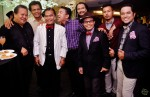 From left: Alias Kadir, Jasmi Ahmad, J.A. Halim, Abdullah Ahmad, Azman Shariff, Faisal Ishak, Helmindra J.A. Halim and Azhar Nor Lesta...