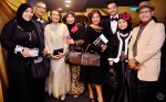 From right: Ahmad Yusof, Nurijah Sahat, Imam Shah, Rozita Abu, Julia Tari, Mariana Yati, Zaidi Ibrahim and wife...