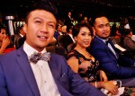 Fadhlur Rahman was seated next to Nick Mikhail and wife Nora...