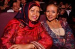 Nadiah M. Din and her mother Madam Hamidah Jalil...