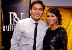 Izyan Mellyna who is four months pregnant, with hubby Saifulnazri...