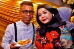 Stylist Intan and hubby Salim...