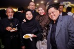 Isadhora Mohamed was joined by hubby Mohammad Sawifi, Johan Jaafar, former radio producer-presenter Madam Asmah Sulaiman and her hubby Mr. Said...