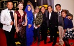 Madam Zakiah Halim seen here with the Mat Yoyo / Bengkel Kanak-Kanak TV SBC alumnus Shahrin Azhar, Rilla Melati, Faisal Ishak, Mohammad & Ibrahim Sawifi, Wan Haiz and Hartini Ismail...