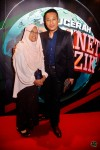 Riz Sunawan came with his beloved mother, Madam Jamaliah Sujak...