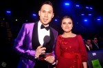 Hosts Caesar Gunawan and Jihan Muse taking time out to pose for my camera before going live with their hosting...