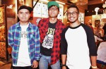 Anhar Razali, Nuriman and Ishyam Lal of Iman's League...