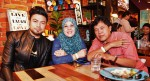 Ryan Sufiyan came with his doting parents...
