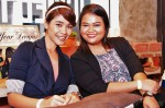 Part-time deejays Mira Rahman and Aqilah...