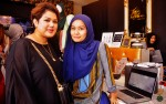 A collaborative effort between celebrity make-up artiste Fatimah Mohsin and Diyana Halik, wife of actor Aaron Aziz...
