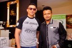 The man himself, Aaron Aziz and AB Shaik, boss of the event venue The Ballroom @ East Coast...