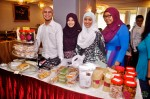 Chef Siti Mastura with her staff and selling some of her famous kuihs and cookies...