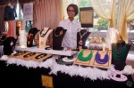 Another award-winning actress Ariati Tyeb Papar who sells some lovely accessories for the ladies...