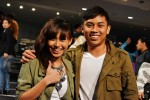 Up-and-coming actress Atyy Malek came to support Iskandar Shah along with her beau Syahmi Kadir...