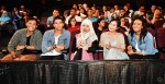Lending their support and seated at the front row were Aidi Isham, Fadli Kamsani, Ain Zainal, Yaya Hamid and Nabihah Zainodin...