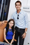 Aliff Aziz and fiancee, Bella Astillah...
