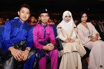 Iskandar Shah and Danish Ashraf were seated together with Syafiqah and Wirda that night...