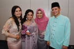Yaya Hamid, Nana Karia seen here with Jasmani Basri and wife Madam Poziah Hassan...