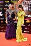 Didie Alias and Dato Rafiena Ramli, whose company House of Dre was also one of the co-sponsors of Anugerah Planet Muzik 2016...
