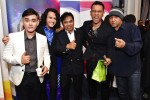 (From left): Hydir Idris, Azman Samsudin, Yusman Umar, Wawan Husen and legendary guitarist from Rusty Blade, Khalid Mobin...