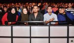 Also spotted in the audience were Ms. Sabariah Hirma, Managing Director of S.Ria Productions, local singer Sofia Arissa, members of Arus Band - Adri and Fazlan, as well as singer-producer Ashidy Ridwan...