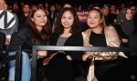 They were joined by the ladies from Group A (from left): Shalyza Rosly, Roziana Cindy and Liwani Izzati...
