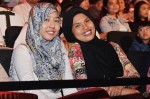 These two pretty ladies, Nurzawani Jamaluddin and Radhiah Zulkifli, are responsible for all those nice trailers you see on Mediacorp Suria...
